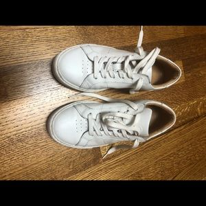 Greats white leather sneakers